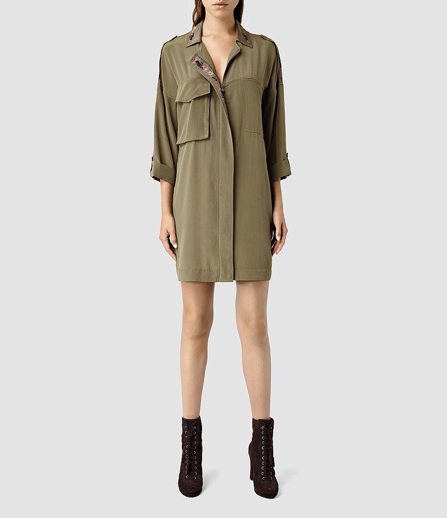 Women's Laurel Colt Dress (Khaki) -