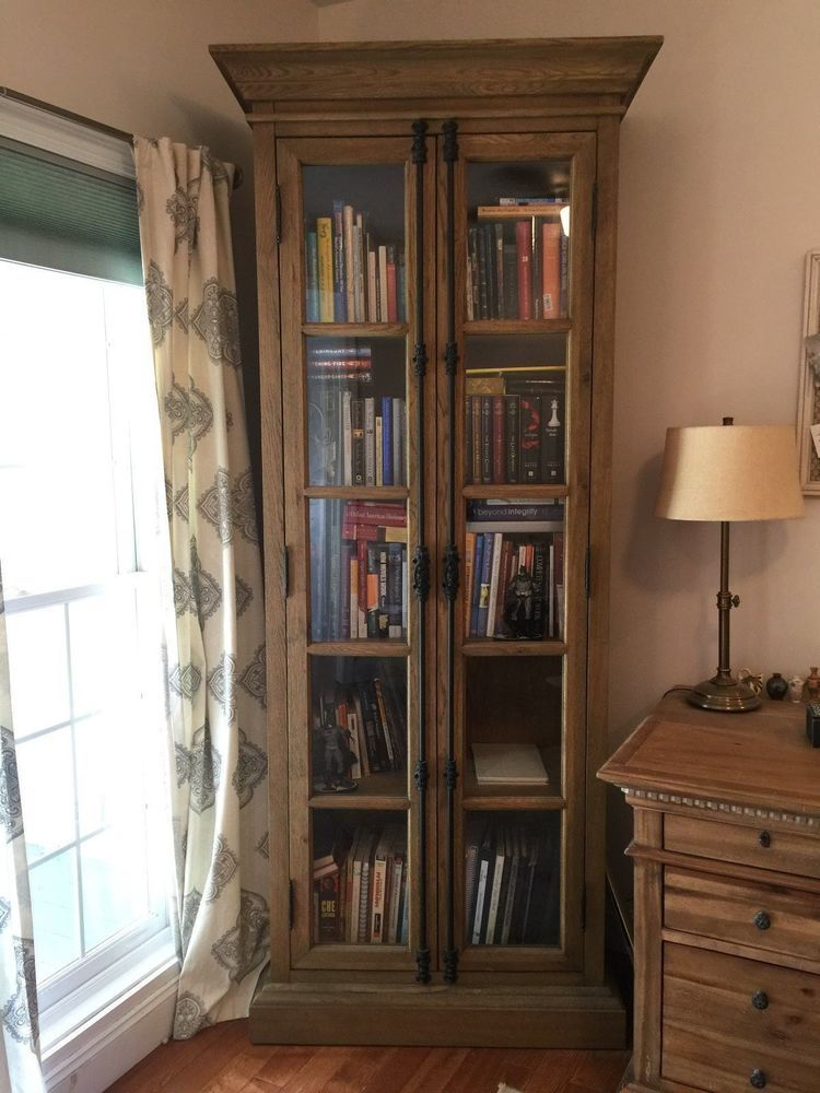 Restoration Hardware French Casement DoubleDoor Cabinet