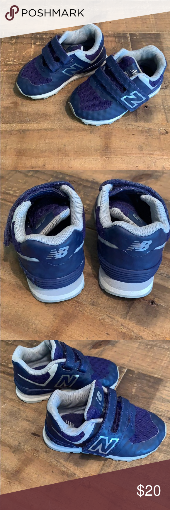 Toddler New Balance tennis shoes New