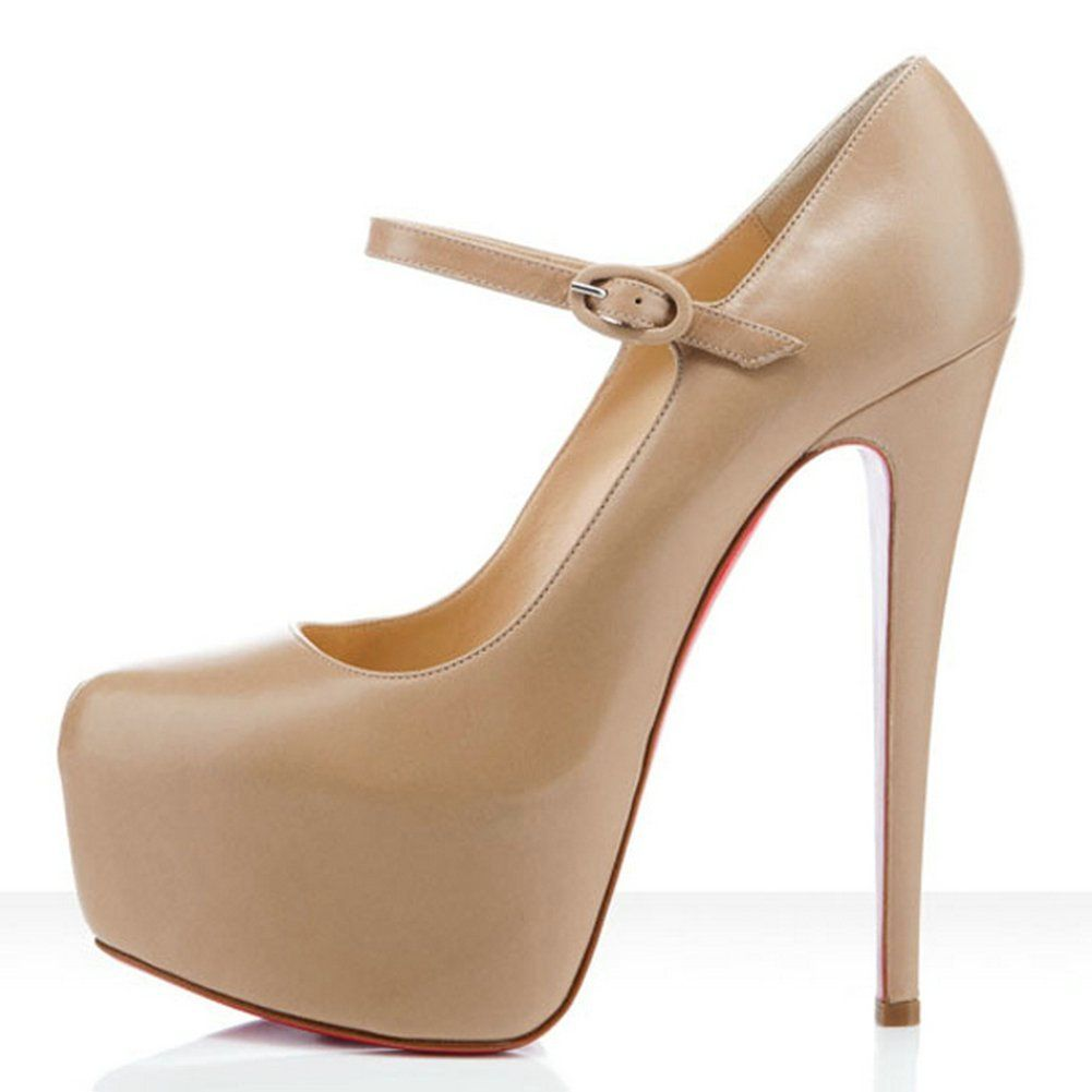 christian louboutin lady super-platform mary jane pump