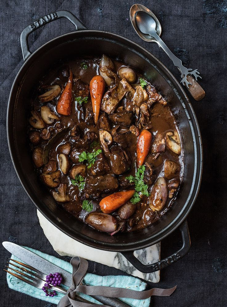 Wild Bourguignon - Das entspannte Menü - Die Hauptspeise #rezepteherbst
