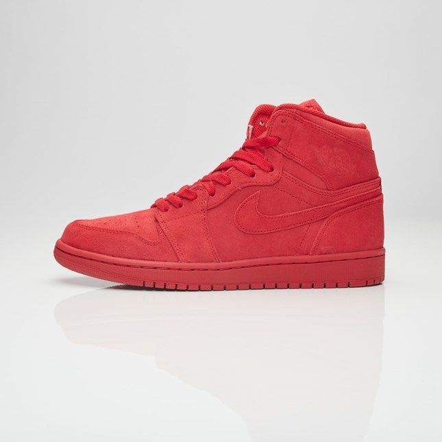 cfd07ea603a2 Air Jordan 1 Retro High Article 332550-603 GYM RED SUEDE BANNED  JORDAN   AthleticSneakers