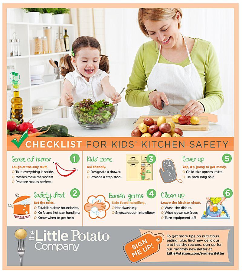 Blog the little potato company kitchen safety kids