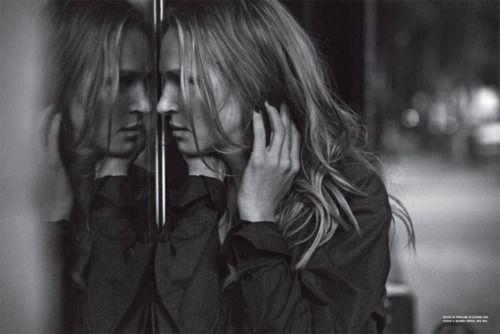 Uma Thurman for Vogue Italia by Peter Lindbergh