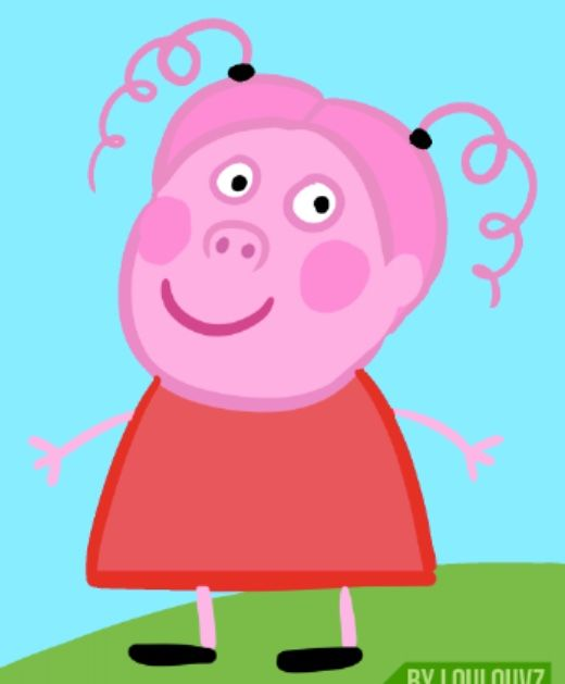 Human Peppa Pig. I'd smash Peppa pig wallpaper, Peppa
