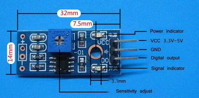 Soil Moisture Sensor Module | Electronic in 2019 | Arduino