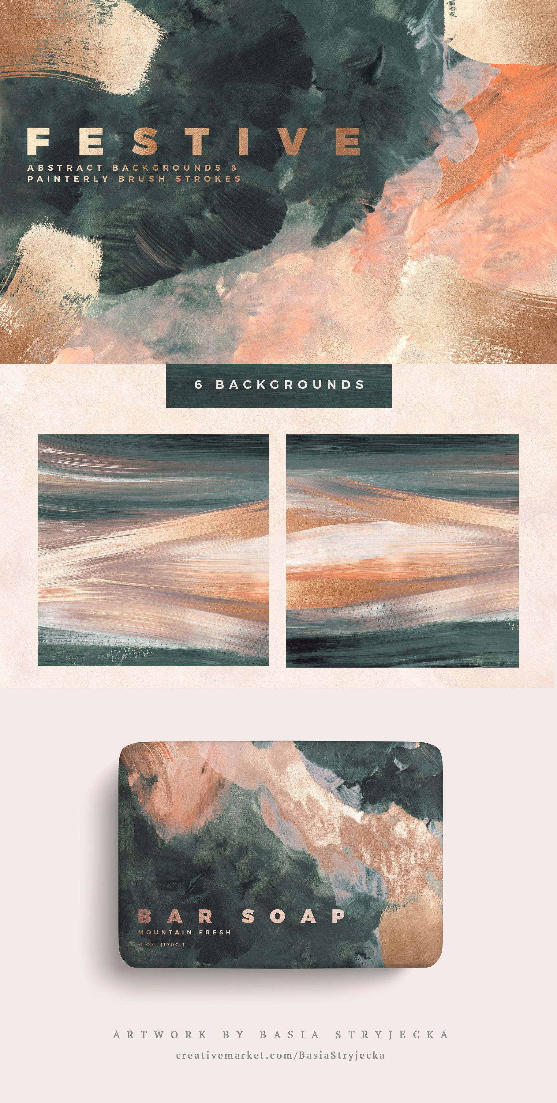 Festive Abstract Backgrounds #graphicdesign