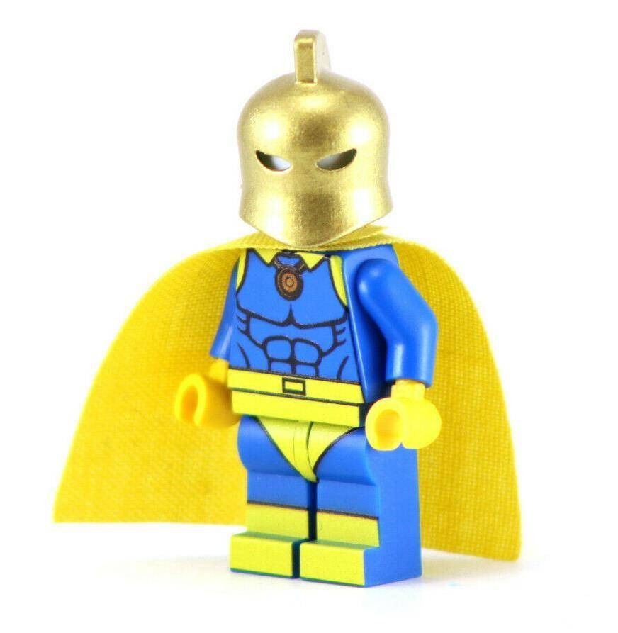 Doctor Fate Custom Minifigure LEGO Compatible DC Universe Minifigures