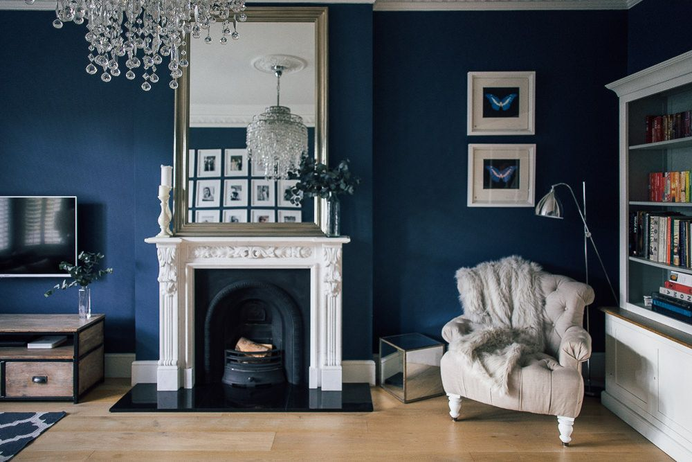 Best Leoma S Awe Inspiring London Home Moody Blue 400 x 300