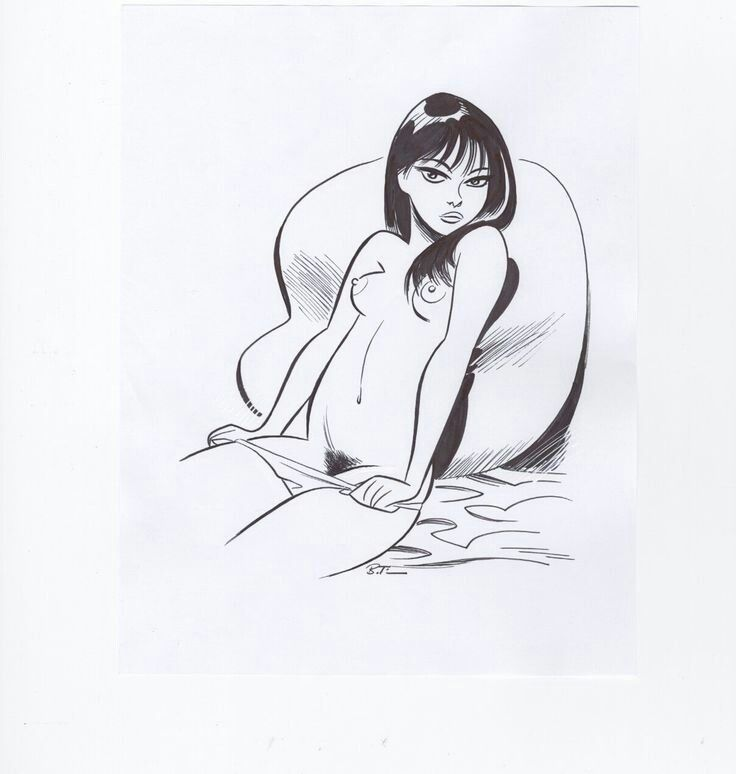 Naked fantasy women art