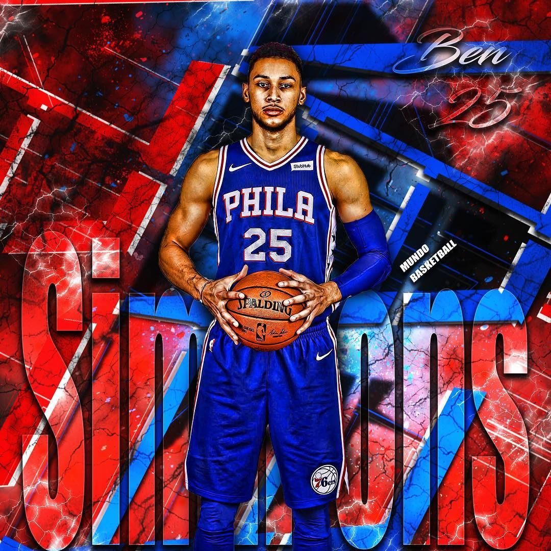 1st career triple double for Ben Simmons and the Sixers got the W   bensimmons  sixers  philadelphia  roy  theprocess  art  edit 21b746451