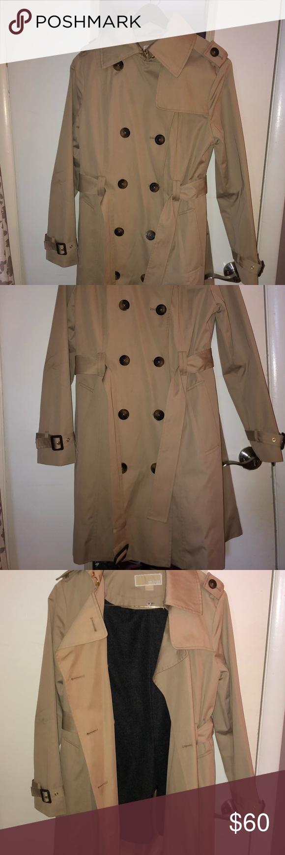 Michael Kors Rn 79675 Trench Coat Trench Coat Coat Michael Kors Jackets [ 1740 x 580 Pixel ]