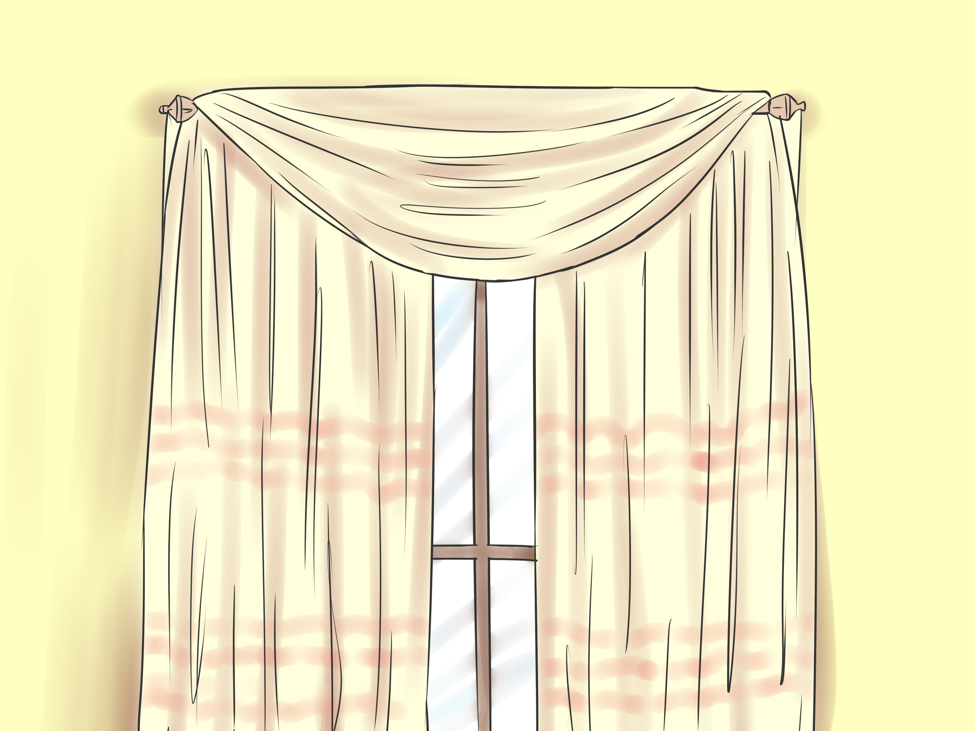 elements overstock shipping voile free valances orders garden on scarf curtain product valance home sheer inch diamond window over