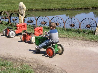 Tractor Track- idea from Deanna Rose Children's Farmstead