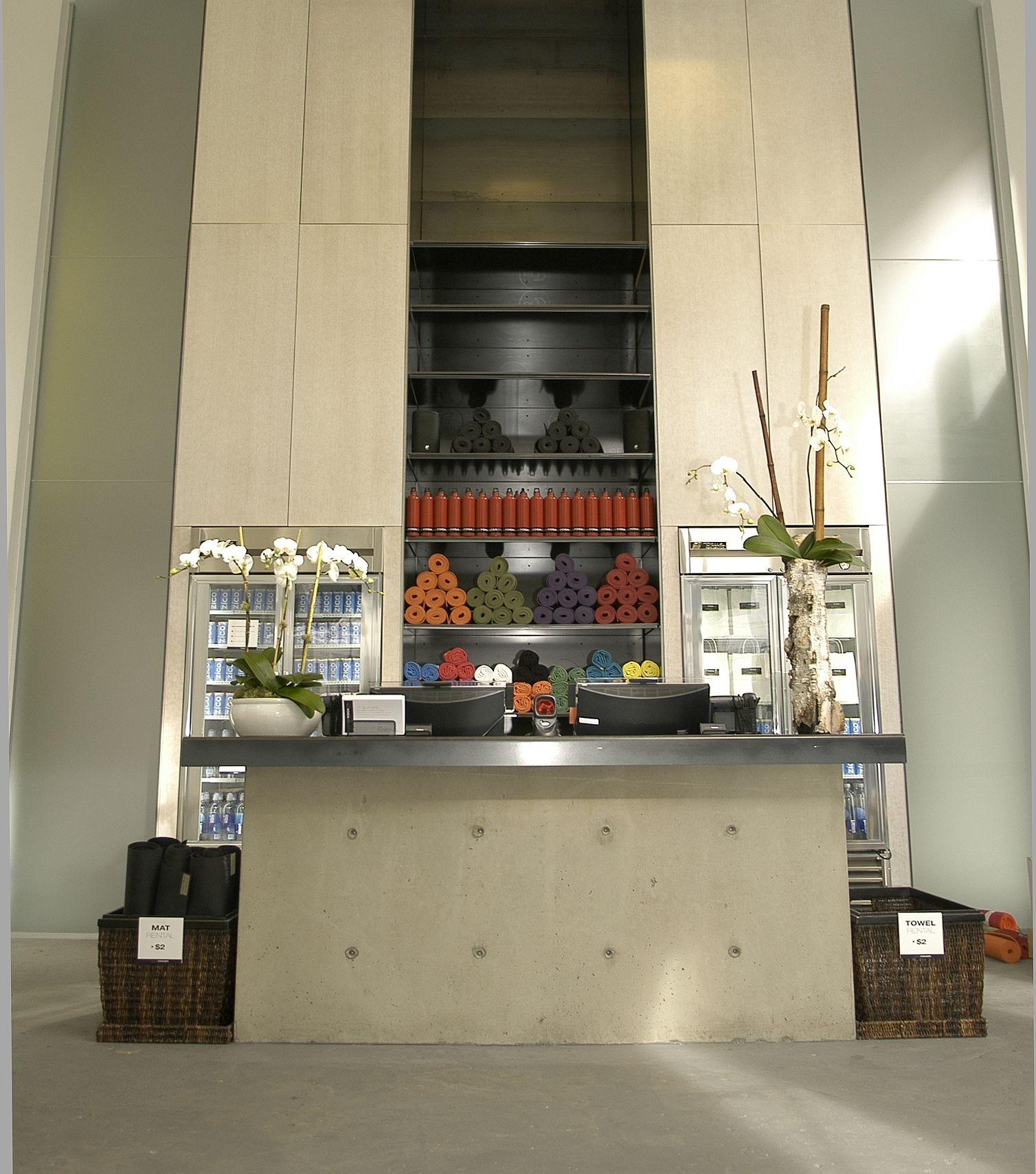 Simple and luxurious interior @UrbanYogaSpa | | YOGA STUDIO DESIGN ...