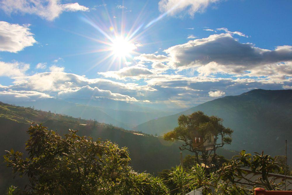 Les Andes, Baños: La casa del arbol