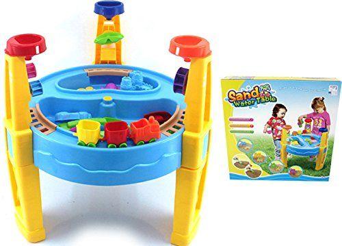 Kinder Spieltisch Sand and Water - Sandkasten - Sandkasten Tisch ...