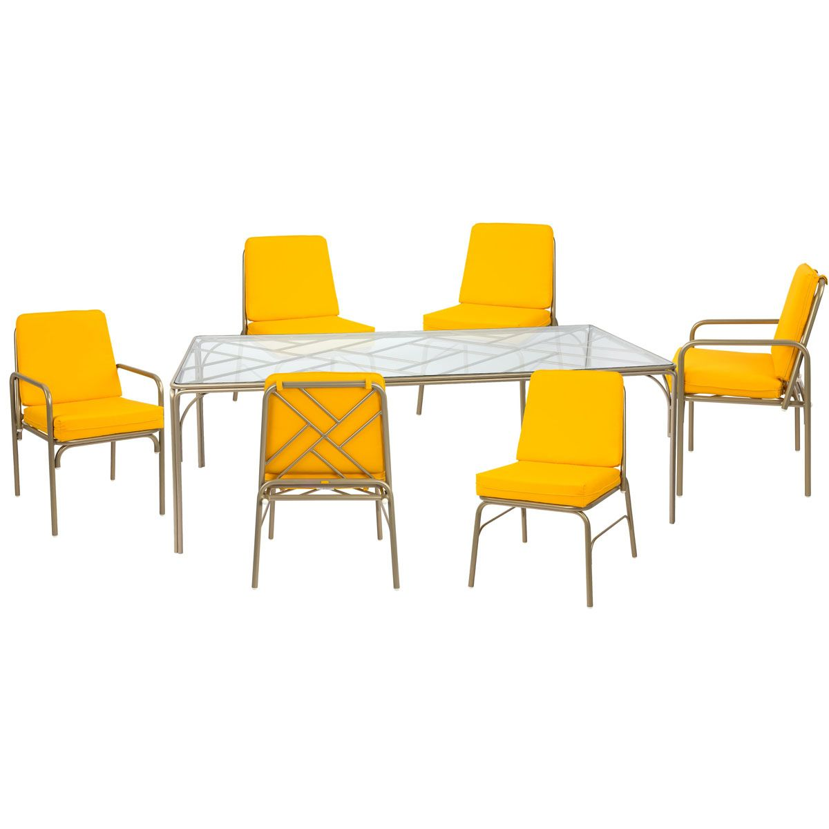 Fairy Tale 7 Piece Outdoor Dining Set Patio Furnishings Contemporary Patio Furniture Diy Patio Furniture