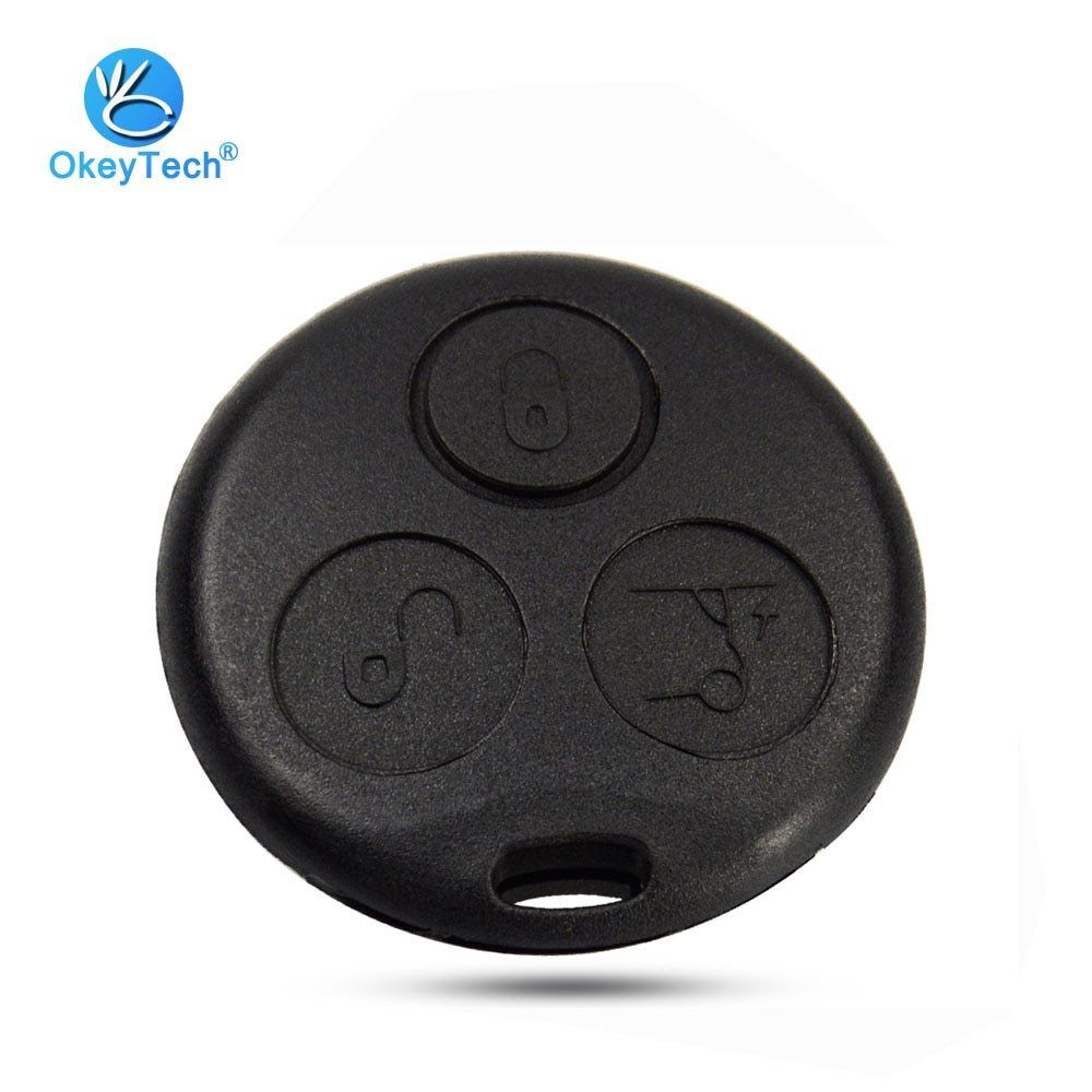 Okeytech Key Diy Shell For Mercedes Benz Mb Smart Fortwo 450