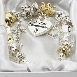 Juliana Gold/Silver Charm Bracelet with Heart 'A Special Mum' Boxed Gift Pscylo1