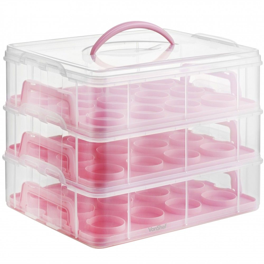 36 Cupcake Carrier Best Vonshef Cupcake Carrier …  Maskani … Review