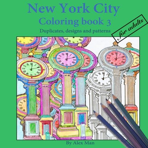 new york city coloring book 3 for adults duplicates desi