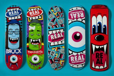 "Bordo Bello"" skateboard art show - Feel Desain"