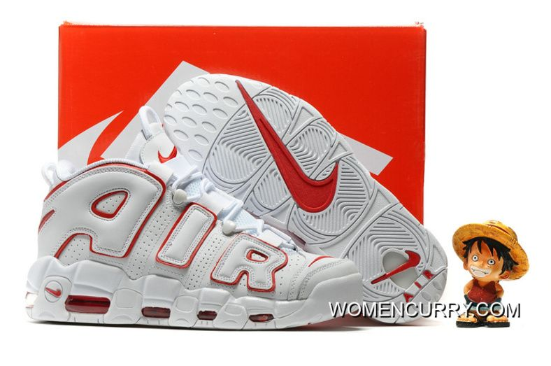 Nike Air More Uptempo White Varsity Red Copuon Code in 2019  231fe9236