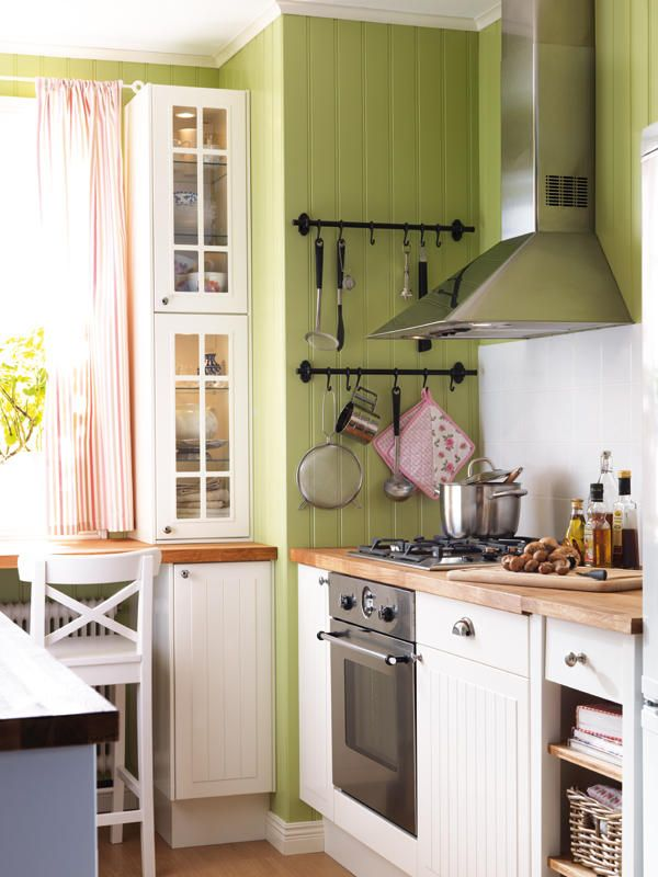 Gana espacio en la cocina | Cocinas...Kitchens | Pinterest ...