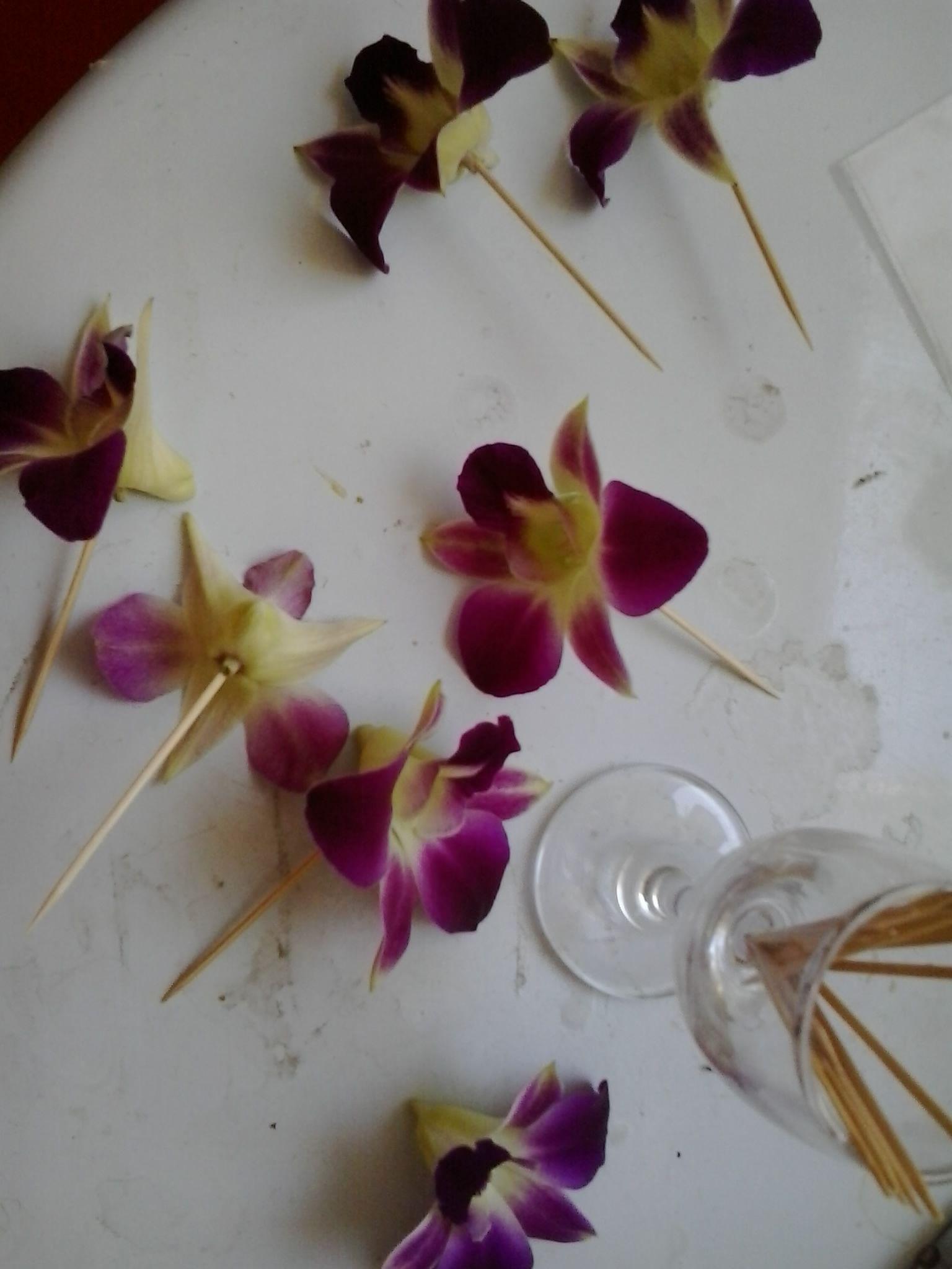 Webklik.nl resincoatingorchids Dried flower jewelry