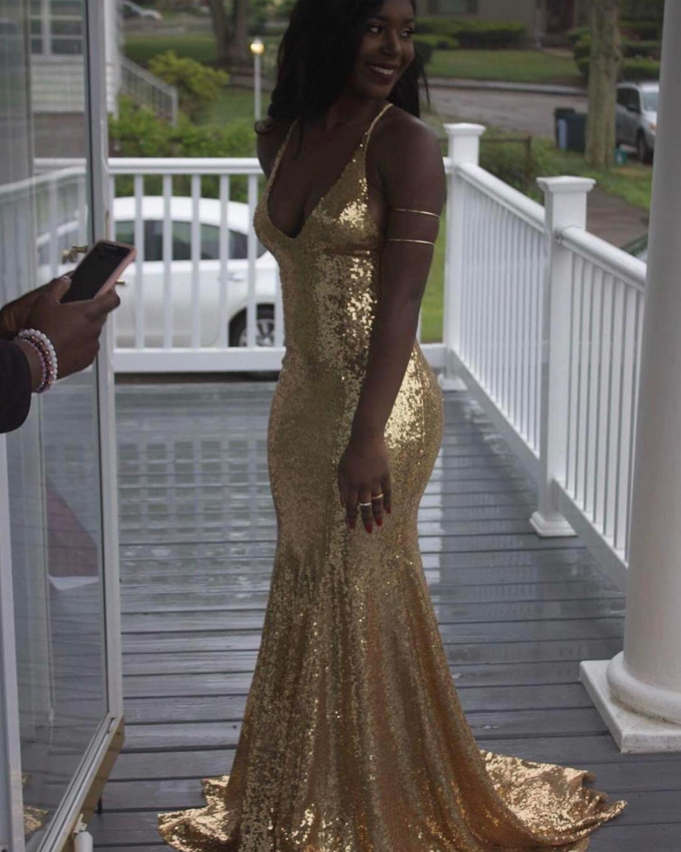 Estelle Gown - Gold | Gowns, Prom and Gold