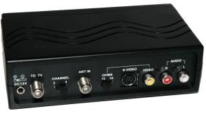 How Do I Connect DVD Player To TV That Only Has Ant/Cable Connection?