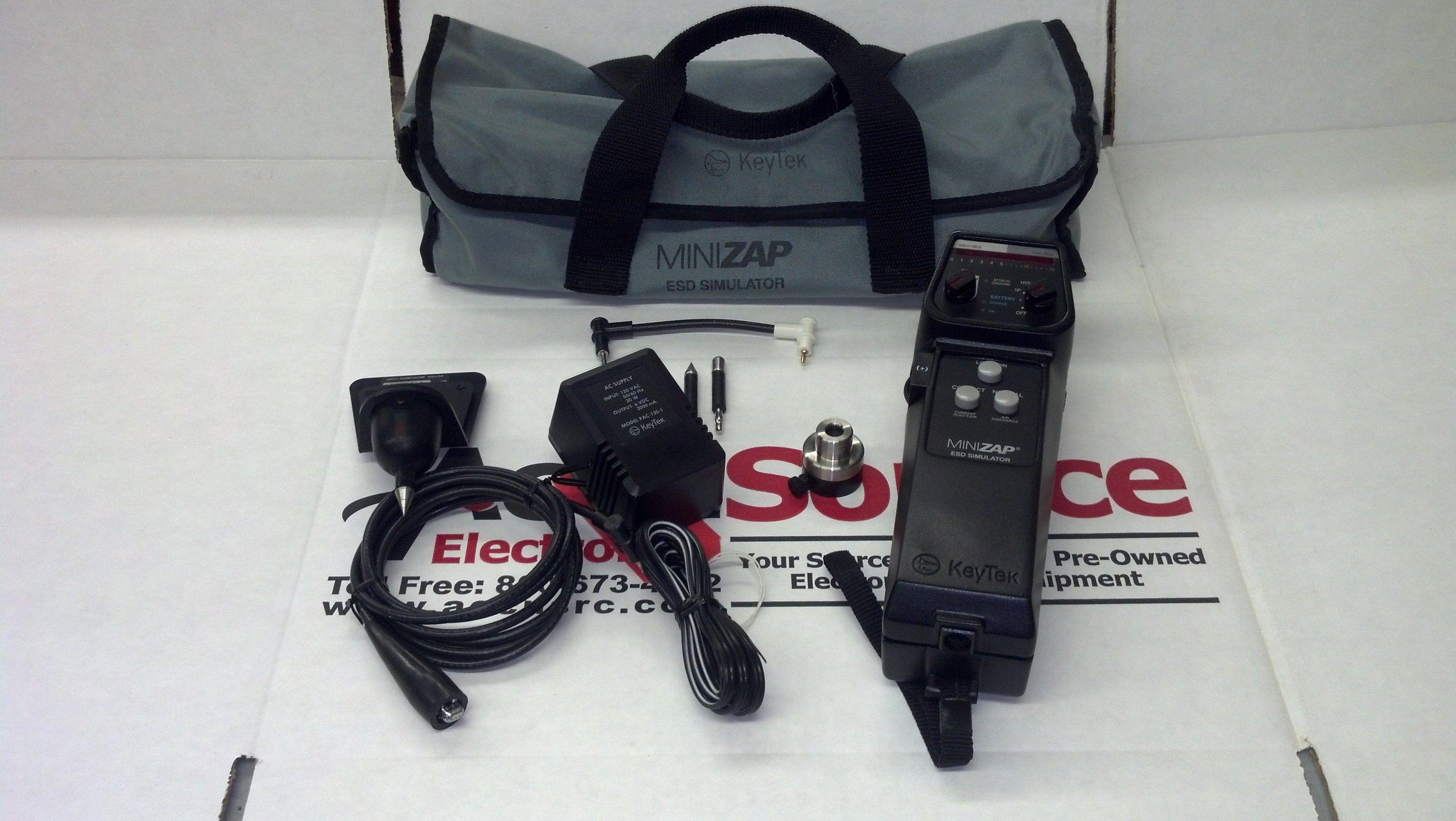 KeyTek MZ15 Minizap ESD Simulator. +/- 15 kV (10 kV in contact mode). $2495.00