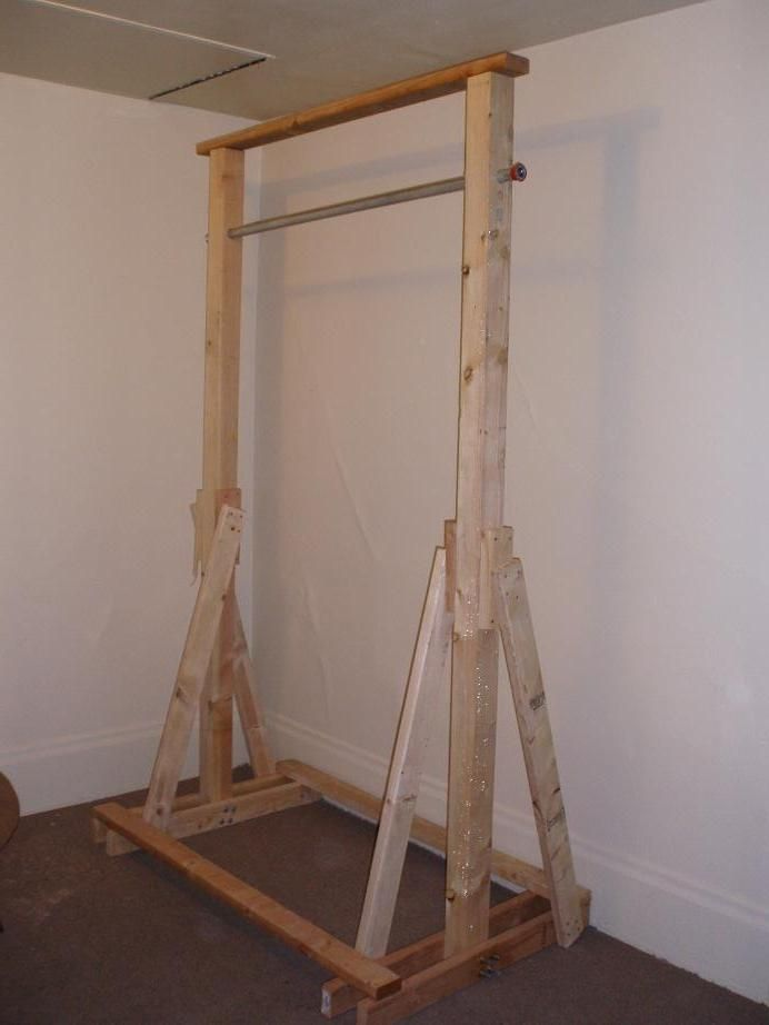 homemade free standing pull up bar plans homemade ftempo