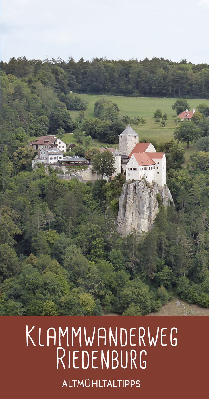 Photo of Klammwanderweg Riedenburg – Burg Prunn – Altmühltal (Bayern). Rundwanderweg mit…