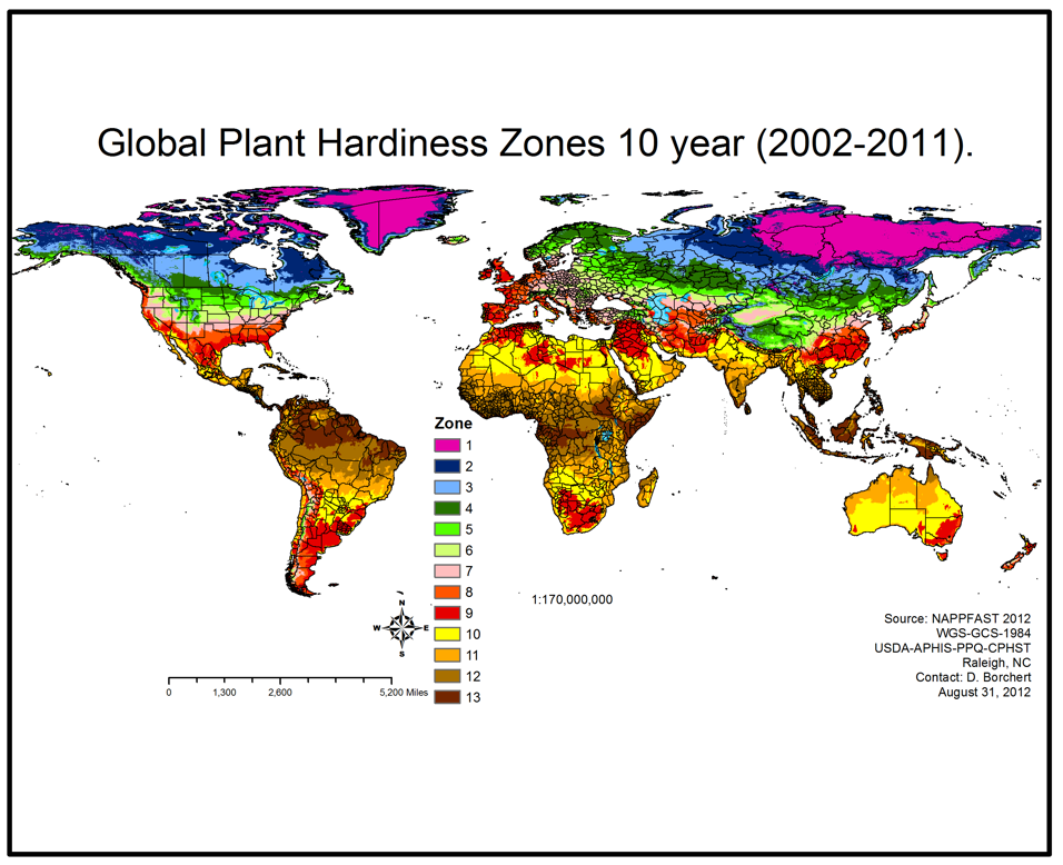 When To Plant Vegetables Easily Grown Garden Plant Hardiness Zone Map When To Plant Vegetables Plant Hardiness Zone