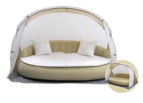 dekovita bain de soleil 220x130cm gonflable lit canap. Black Bedroom Furniture Sets. Home Design Ideas