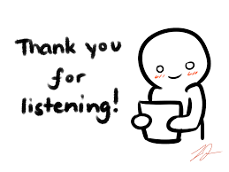 Image Result For Thank You Thank You For Listening Wallpaper Powerpoint Listening Quotes