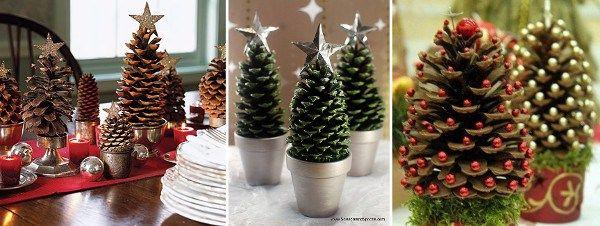 Pias Navidad. Excellent Decoracin De Navidad Con Pias Secas With ...