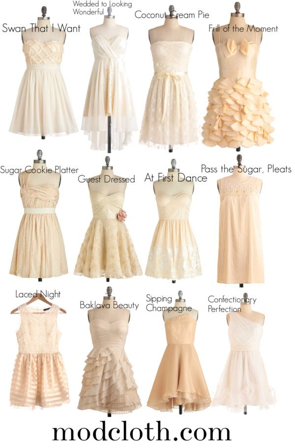 Bridesmaid Possibilities By Ks1448 On Polyvore Mismatched Nude Colored Potential Dresses For