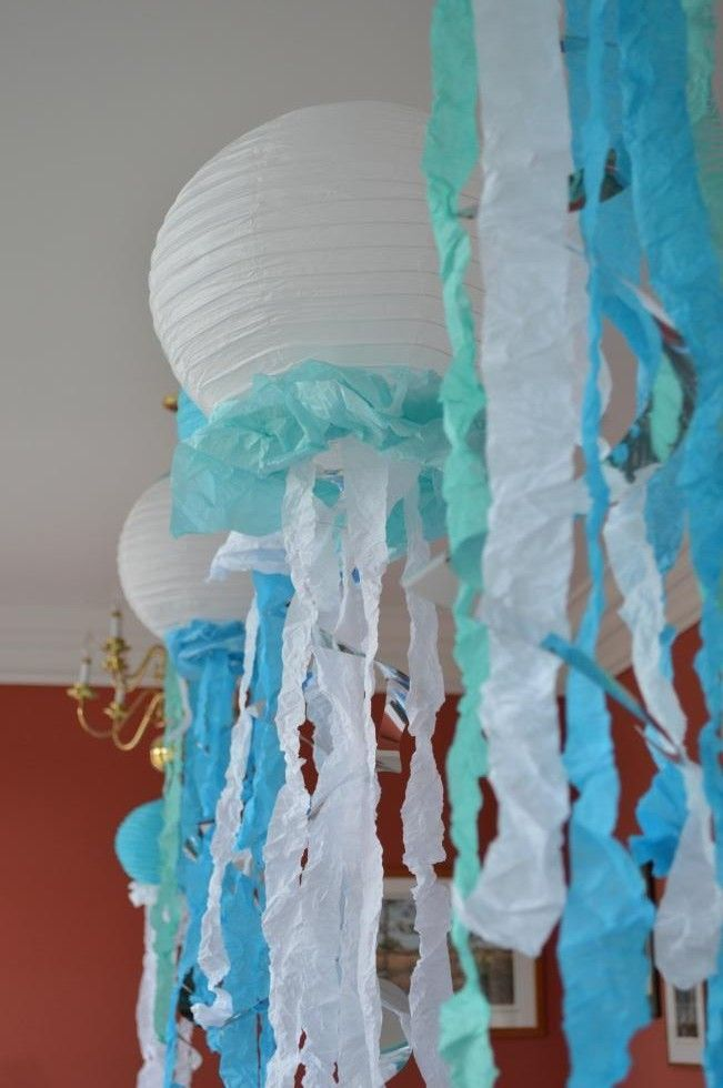 Paper Lantern Jellyfish Captivating Multi Storied Life  Tales From A Third Floor Condo  Decoração Design Decoration