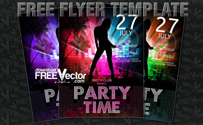 free flyer template download