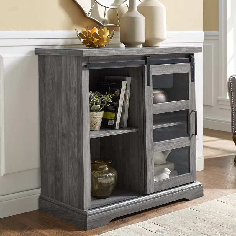 Amelie Sideboard Small bookcase, Sliding doors