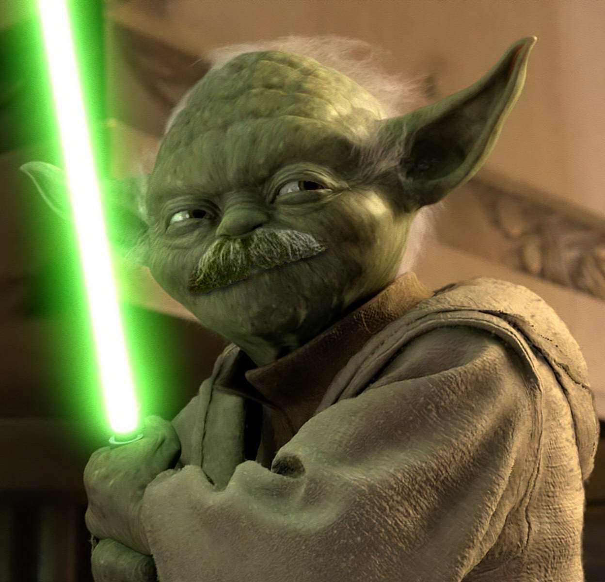Célèbre Star Wars - A Full Moustache New Hope / yoda #starwars #rogueone  DQ09