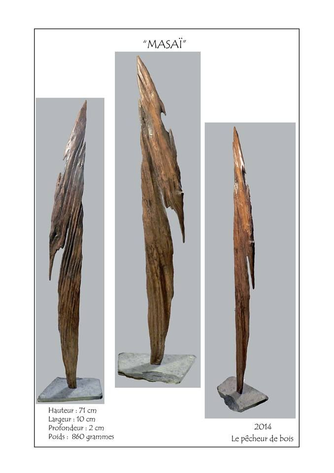 Le p cheur de bois yann viau masa bois flott for Travailler le bois flotte