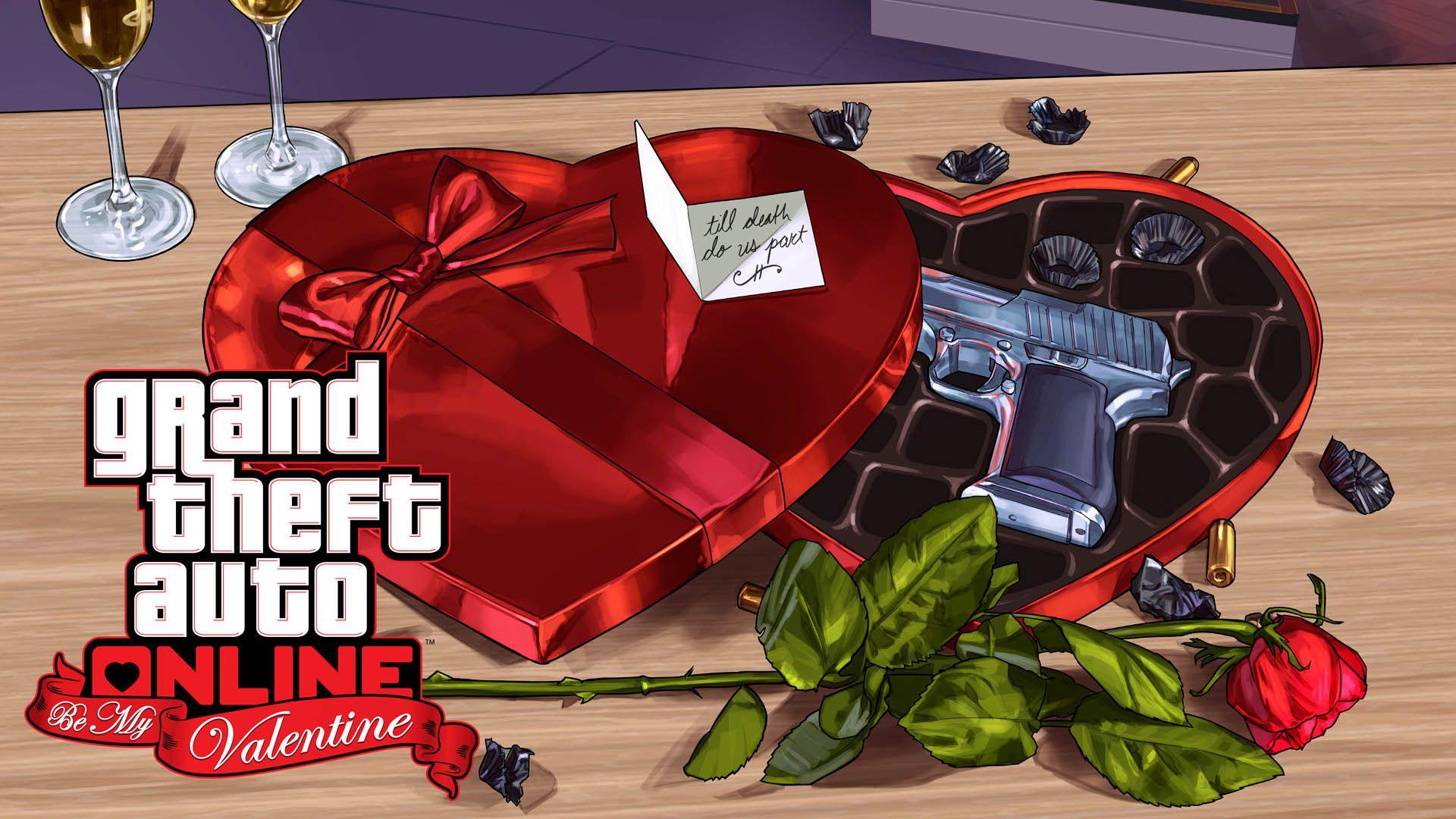 Grand Theft Auto 5 Ausmalbilder : Be My Valentine Gta 5 Online Update 1920×1080 Wallpaper K