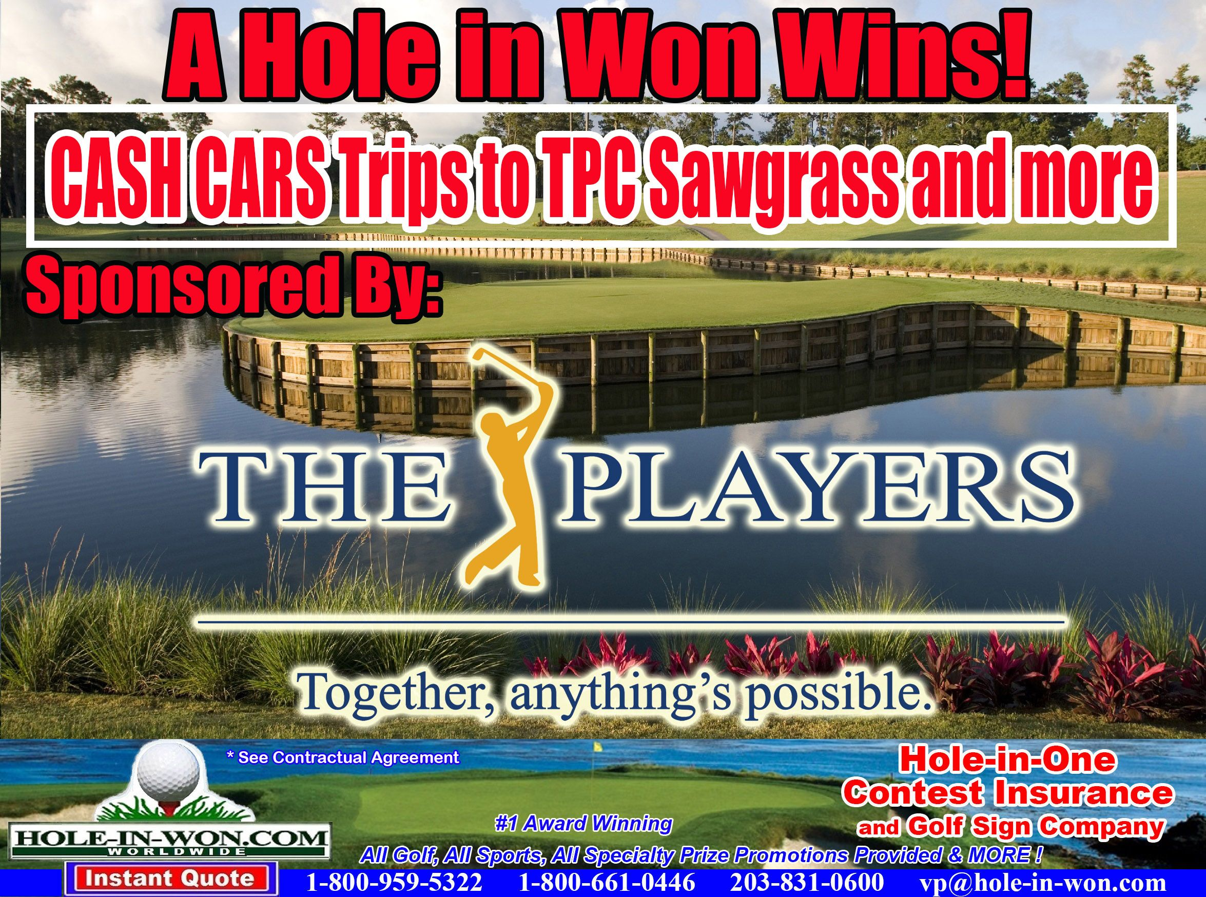 Hole In One Insurance For Golf Original Putting Contest Company