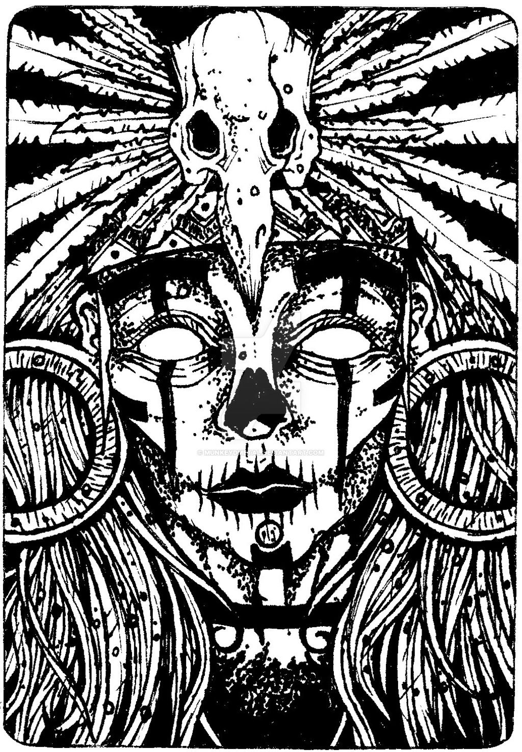 Black Art Voodoo Google Search Voodoo Tattoo Witch