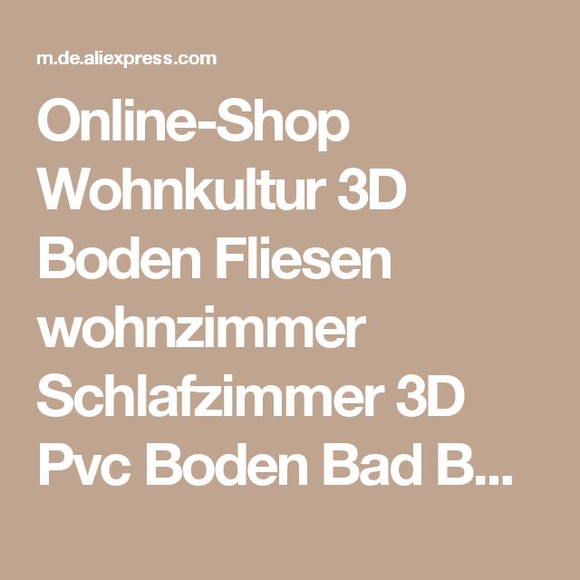 Online Shop Wohnkultur 3D Boden Fliesen Wohnzimmer Schlafzimmer 3D Pvc Boden  Bad Benutzerdefinierte Druck Foto