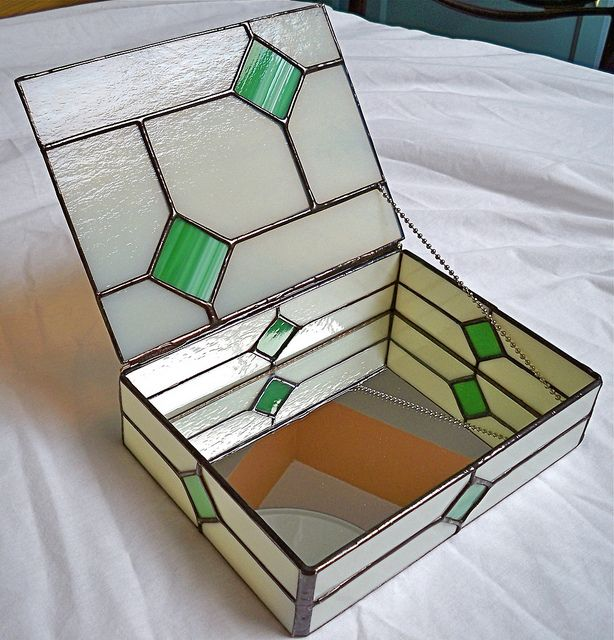 shin clear texture stained glass modern stained glass Clear Stained Glass Jewelry Box judaica Abstract Stained Glass Glass trinket box